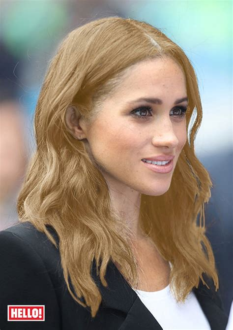Blond Hair by This Is What Meghan Markle Would Look Like With