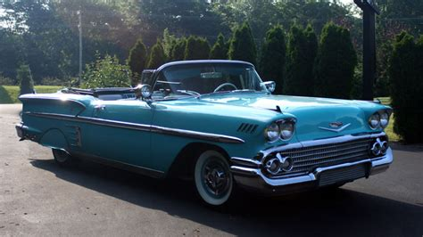 1958 Chevrolet Impala Convertible - Signficant Cars, Inc.