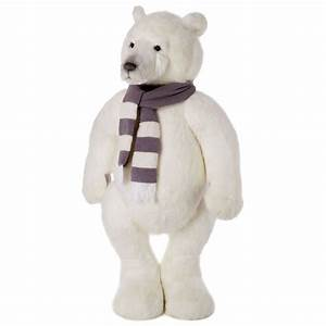 Giant 6ft Polar Teddy Bear By Charlie Bears  Designed By