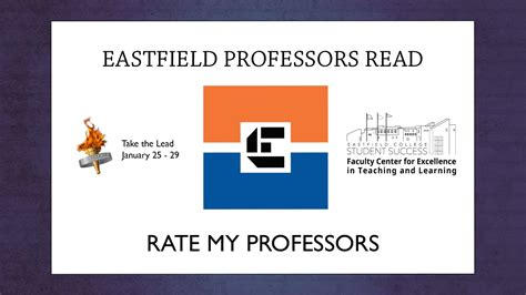 Professors Read Rate My Professor