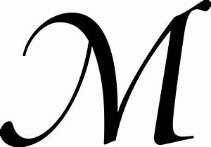 Cool Letter M Fonts | Letters Example