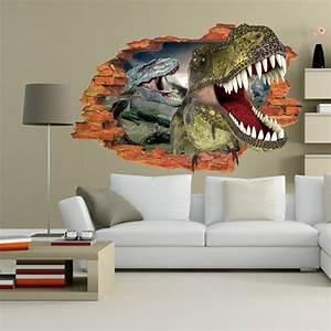 3d wall sticker dinosaur jurassic park jurassic park store for Best 20 jurassic park wall decal