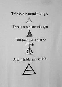 Triangles are totally my favorite shapes! (I love these ...