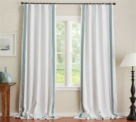 pottery barn outdoor curtains and rods pole pocket blackout drape 50 x 63 pottery barn