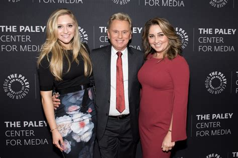 lesly brown sajak maggie pat fortune wheel paley center years presents game americas daughter host sa america editorial ed gettyimages