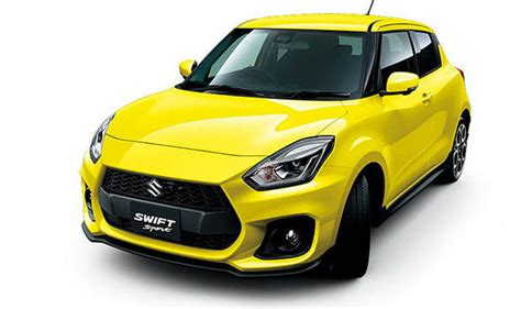 Suzuki Swift Sport 2018 Leaked Pictures Reveal Hot
