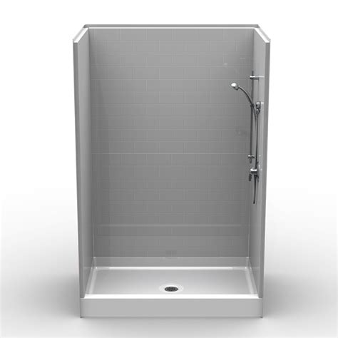 Shower Base 54 X 36 - multi curbed 54 quot x 36 quot x 81 quot shower curbed