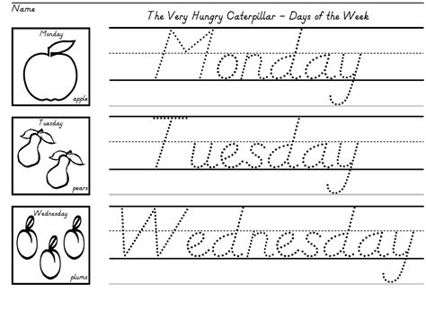 free printable kindergarten writing worksheets elors