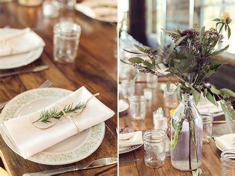 country wedding table decorations rustic vintage wedding at thistle springs ranch