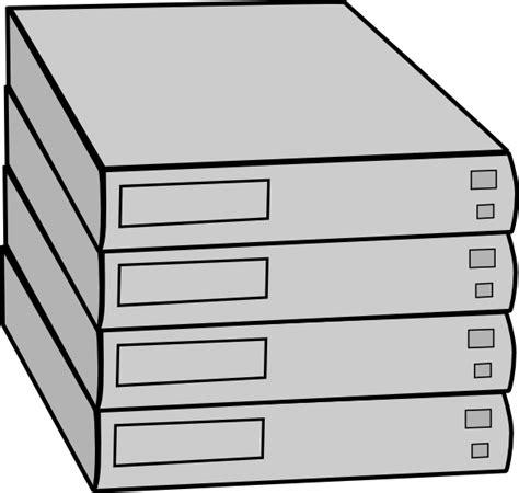 stacked servers  rack clip art  clkercom vector clip art  royalty
