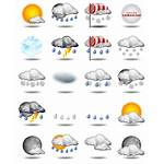 Weather Icons Icon Temperature Forecast Symbols Newdesignfile