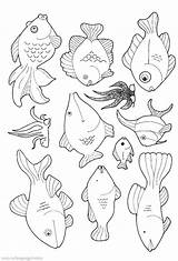 Fish Coloring Pages Printable Aquarium Cute Colouring Educative Printables Toddlers Getdrawings Amp Getcolorings Bestappsforkids Colorings sketch template