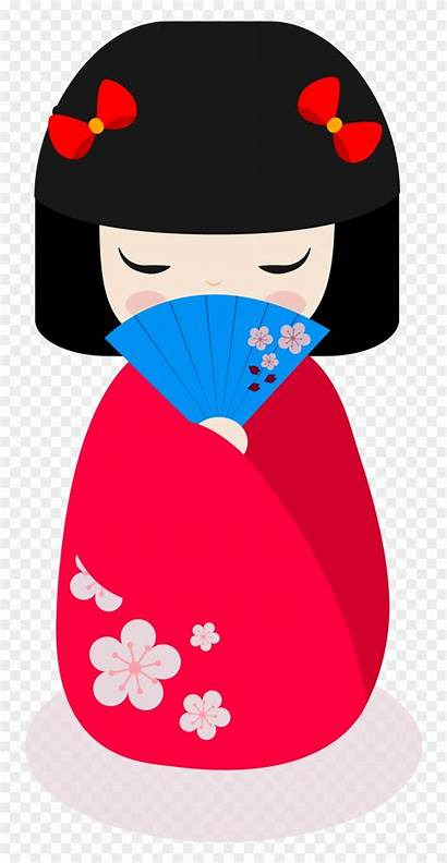 Doll Clipart Japanese Clip Transparent Clipground Webstockreview