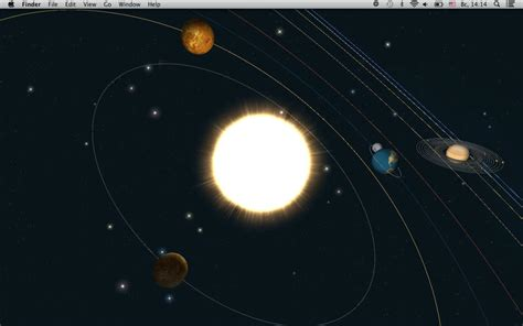 Planets -- Live Wallpaper On The Mac App Store