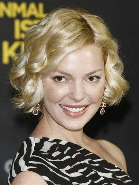 curly short hairstyles   faces short