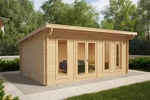 Gerätehaus Mit Pultdach : gartenhaus mit pultdach barbados 21m 44mm 6x4 ~ Michelbontemps.com Haus und Dekorationen