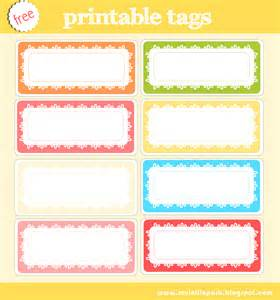 free printable tag collection and digital scrapbooking