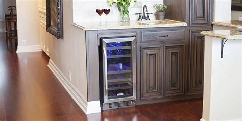 wine cooler in kitchen cabinet how to choose the best built in wine cooler buyer s guide 1907