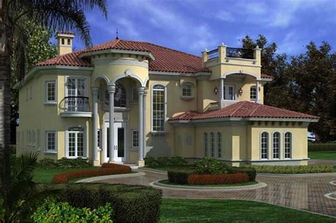 Luxury Home Plans With Pictures by Luxury Home With 6 Bdrms 6784 Sq Ft House Plan 107 1033