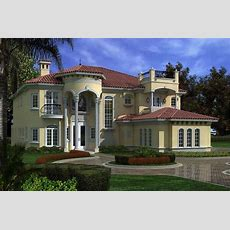 Luxury Home With 6 Bdrms, 6784 Sq Ft  House Plan #1071033
