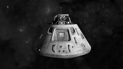 Module Command Apollo Capsule Spaceship Inside 3d