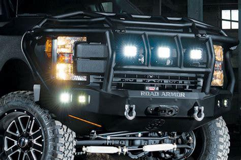 road armor fb   ford ff superduty winch