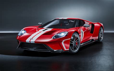 2018 Ford Gt 67 Heritage Edition 4k Wallpapers
