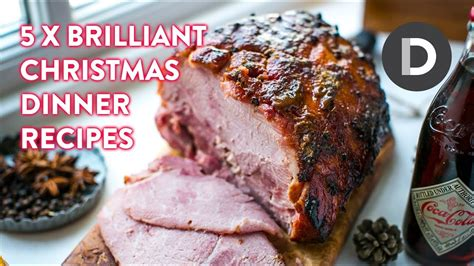 This year, jazz up your christmas dinner spread with something different. Top 5 Christmas Dinner Recipes! - YouTube