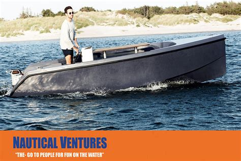 Electric Pleasure Boat by Rand Picnic Sport Boats Authenticity Meets Technology