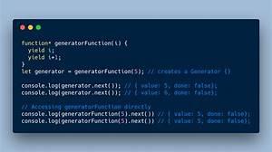 A Simple Guide To Understanding Javascript  Es6  Generators