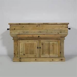 Meuble Cuisine Bois Naturel : je mise sur une cuisine originale et ouverte made in meubles ~ Melissatoandfro.com Idées de Décoration