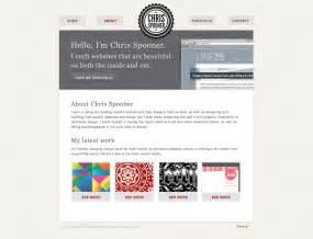 how to design a website how to build a stylish portfolio web design concept