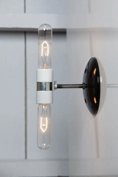 wall sconce industrial wall light bare bulb