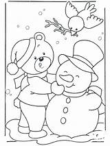 Coloring Winter Pages Themed Printable Getcolorings Them sketch template