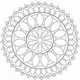 Coloring Mandala Kleurplaten Harderwijk Allesvan Rambo Afkomstig Adult Uploaded sketch template