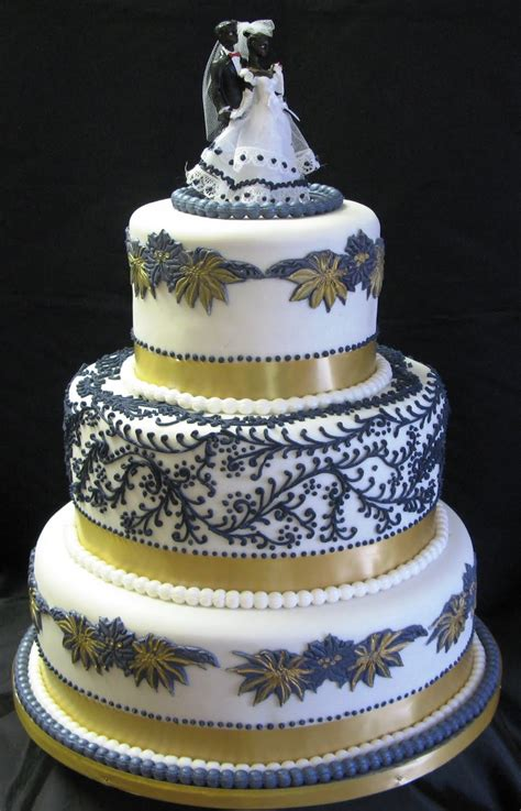 Sugarcraft By Soni Floral Three Tier Wedding Cake And Park