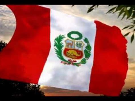 himno nacional del peru sexta estrofa bandera animada