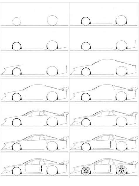 siege auto 5 ans comment dessiner une voiture facilement dessins