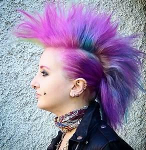 Karnevalskostüme Damen Selber Machen : punk frisuren frau lange haare selber machen frisur ideen ~ Lizthompson.info Haus und Dekorationen