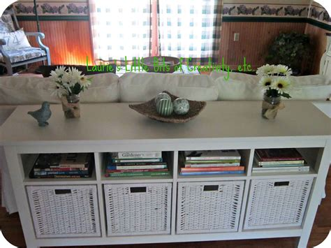 sofa table decor ideas cheap recycled pallet living room coffee tables unfinished