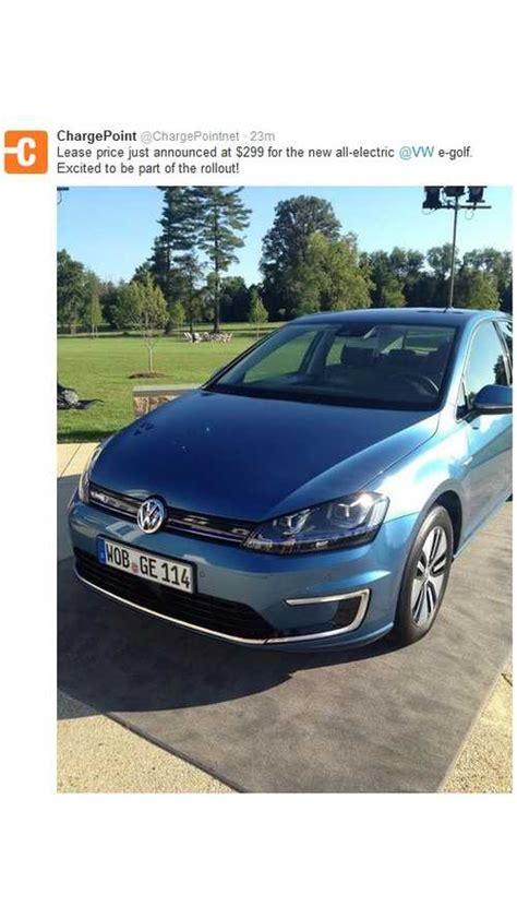 Lease Price by Breaking Volkswagen E Golf Lease Price Only 299 Per