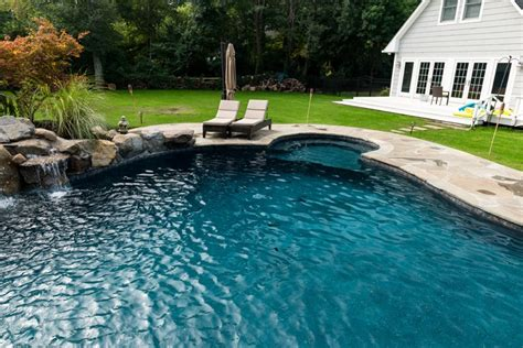 Rumson Nj  Custom Inground Swimming Pool Design