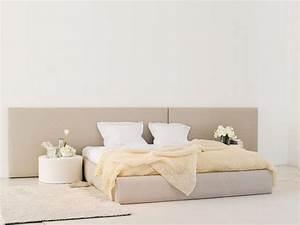 Tete De Lit Tissu : t te de lit en tissu bed headboard by woodnotes ~ Premium-room.com Idées de Décoration
