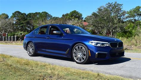 Bmw M550i Review by 2018 Bmw M550i Hd Road Test Review 26