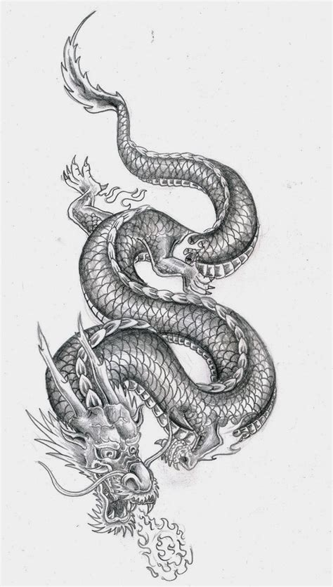 tattoos book   printable tattoo stencils dragon