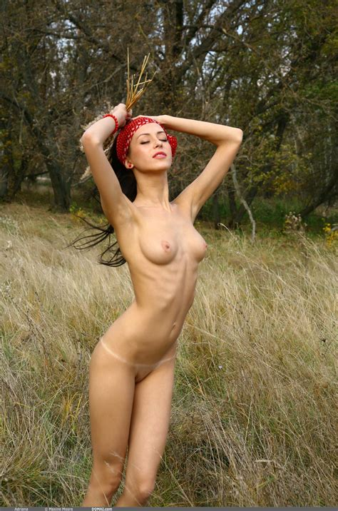Small Tits And A Skinny Body Are Gorgeous On The Lovely Model Adriana Xbabe