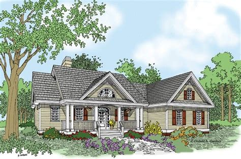 ranch style house plan beds baths sqft plan cottage house designs