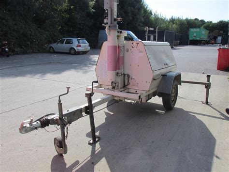 Light Tower For Sale by Secondhand Generators Generator Lighting Towers Mobile