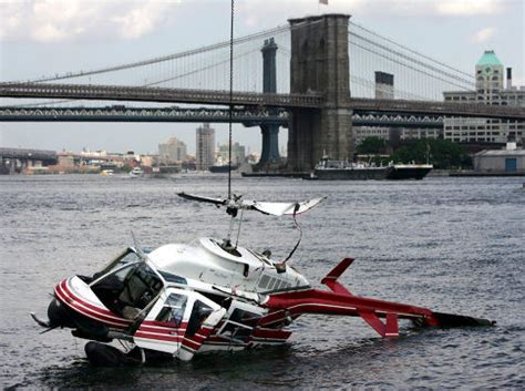 Helicopter Crash Is Seventh In A Nyc River Since 1995