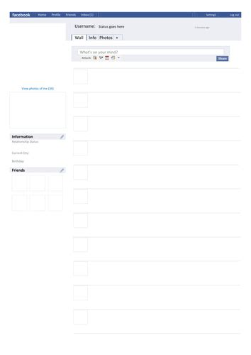 Facebook Template Page By Tafkam